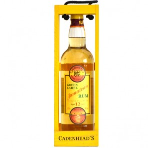 Cadenhead's Green Label Jamaica 12 yo